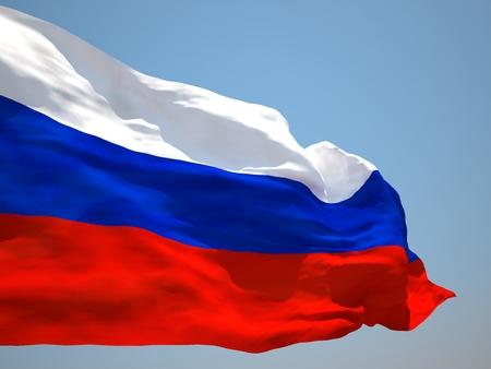 the federation: Russian Federation HD flag