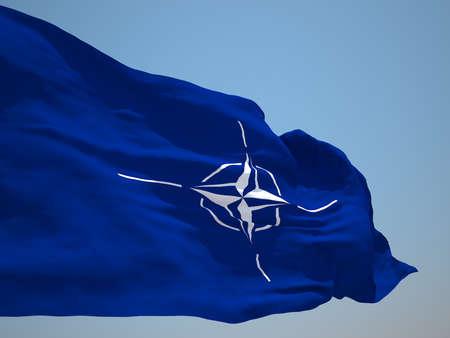 nato: North Atlantic Treaty Organization NATO HD flag