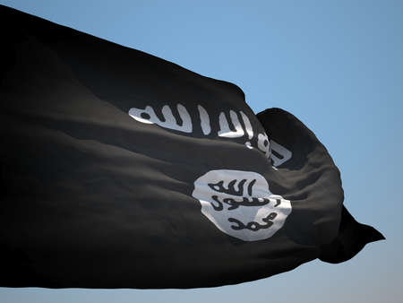 iraq conflict: Islamic State of Iraq and the Levant HD flag