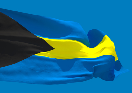 commonwealth: Bahamas wave flag HD Commonwealth of the Bahamas