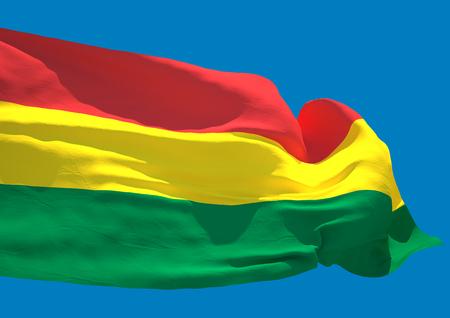 bolivia: Bolivia wave flag HD Plurinational State of Bolivia