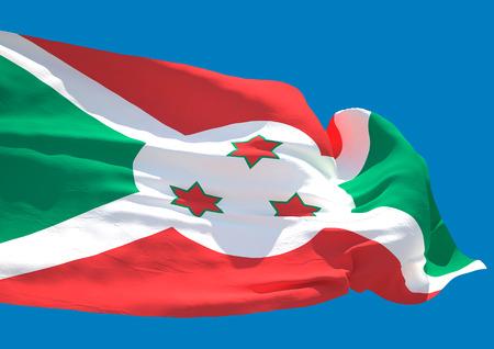 burundi: Burundi wave flag HD Republic of Burundi