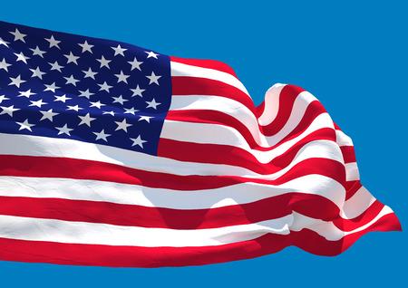 senate: USA wave HD flag United States of America