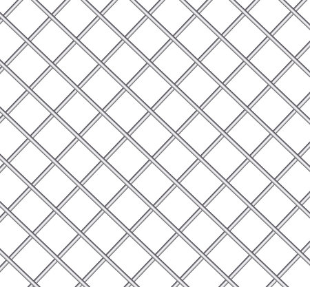 Realistic metal prison grilles.Thuster machine, iron prison cell.metallic product.Vector ilustration.