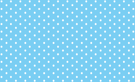 Vector background with hearts and dots. blue background to decorate the maiden party. Paper design for a little princess. Bright pink abstract pattern for inviting kids. surprise doll Illustration