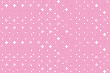 Vector background with hearts and dots. Pink background to decorate the maiden party. Paper design for a little princess. Bright pink abstract pattern for inviting kids. surprise doll
