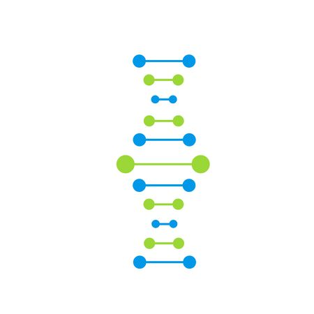 DNA Icons set vector illustration. Polygonal DNA concept. Genetic sign, elements and icons collection. Thin line concept. Imagens - 131772947
