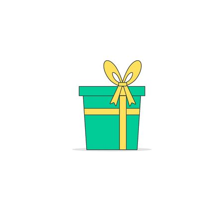 Gift boxes, presents isolated on white. Colorful wrapped. Sale, shopping concept. Collection for Birthday, Christmas. 写真素材