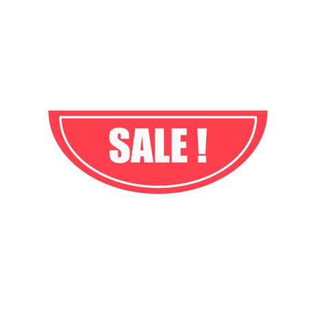 Sale stickers store product label, sale label or poster. Banner element for website and advertising. Discount label design. Price sticker.