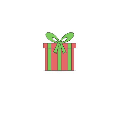 Gift boxes, presents isolated on white. Colorful wrapped. Sale, shopping concept. Collection for Birthday, Christmas. Stock fotó