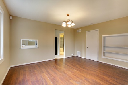 Very nice new house with dining room photo