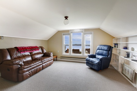 Small family room on the top floor photo