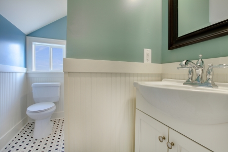 Luxury bathroom in an old house in Tacoma, WA Stock Photo - 12312208