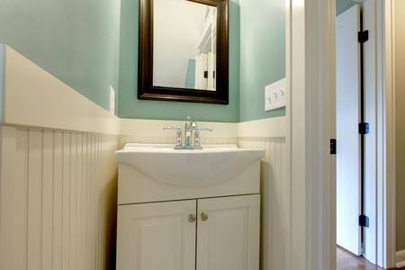 Fresh modern design of bathroom in Tacoma, WA photo