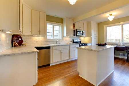 Georgeous kitchen in an old cragtsman house in Tacoma, WA Stock Photo - 12312210