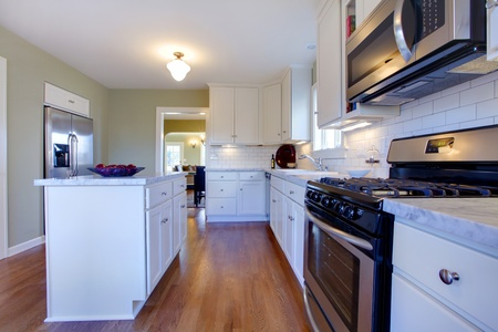 Georgeous kitchen in an old cragtsman house in Tacoma, WA Stock Photo - 12312213