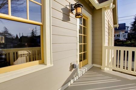 Beautifully restored old craftsman style home in Tacoma, WA. USA photo