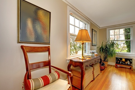 Living room corner with antique furniture Stock Photo - 12312219