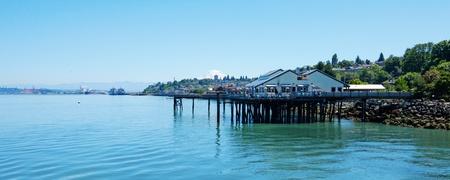 Tacoma, summer. Washington State. Public Park.  Stock Photo - 10015147