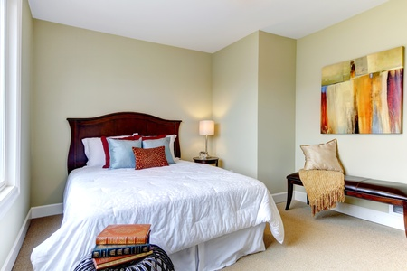 furnished: Beautiful bedroom with new classic design