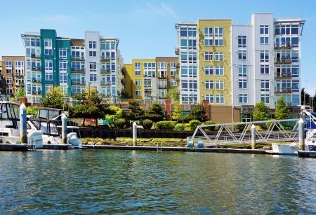 Modern apartment building exter  Tacoma  Stock Photo - 17771873