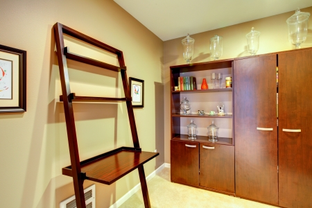 Home interior small office corner without windows. Stock Photo - 20993007