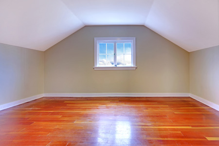 unfurnished: Small cute old house with atic empty room