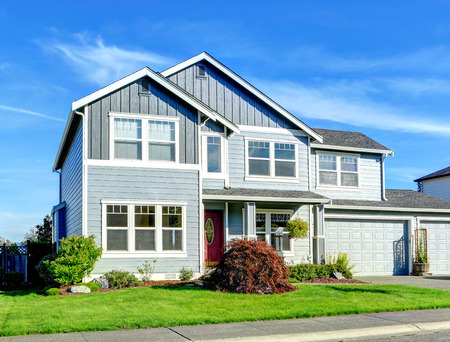 appeal: House exterior with curb appeal Stock Photo