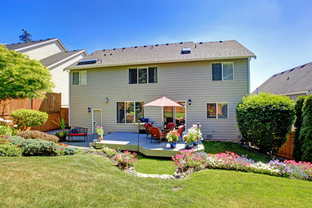 Beautiful Landscape Design For Backyard Garden And Patio Area On ...