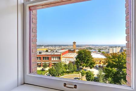 tacoma: Window with city view. Tacoma  real estate, WA