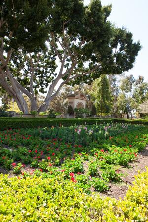 balboa: Balboa park cultural center in San Diego California.