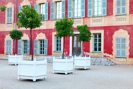 17th: Nice, France - October 17, 2011: Matisse Museum - former Genoese villa of 17th century. Nice, France.