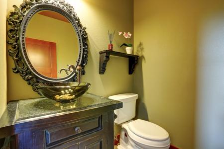 erstaunlich bad inter mit design-glaswanne und orchideetopf auf, Hause ideen