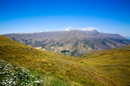 aspiring: Mount Aspiring landscape in Wanaka, New Zealand.