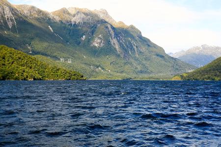 te: Milford Sound at Te Anau in New Zealand.