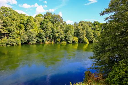 Waikato River, Hamilton Gardens, North Island, New Zealand
