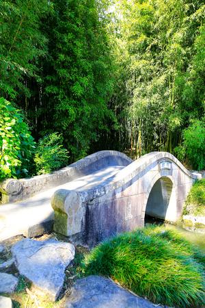 scholars: HAMILTON, NZ - FEBRUARY 25, 2015: Chinese Scholars garden in Hamilton Gardens