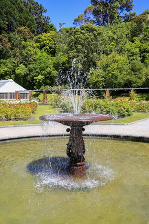 wellington: Nice fountain, Lady Norwood Rose Garden, Wellington, New Zealand