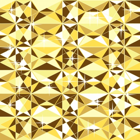 seamless gold texture, without gradients and transparencies Illustration