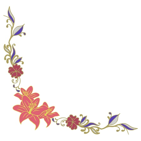 Beautiful  floral element for design Stock Vector - 16464447