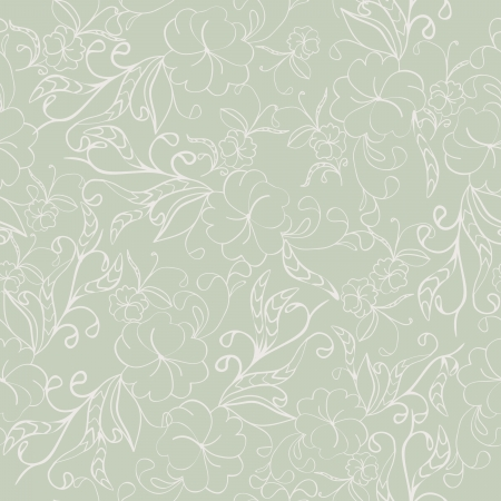 beautiful floral seamless texture in gentle colors Stock Vector - 16464424
