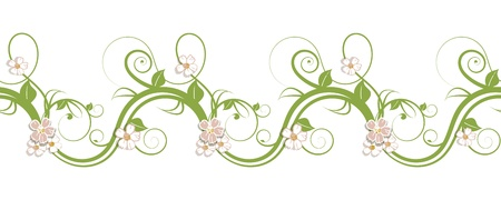 gentle horizontal repeating pattern Stock Vector - 16464476