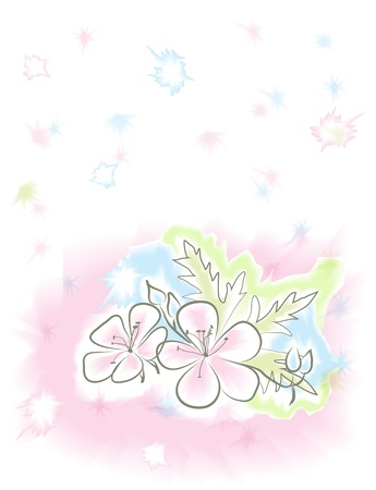 Vector beautiful delicate watercolor background Stock Vector - 17275821