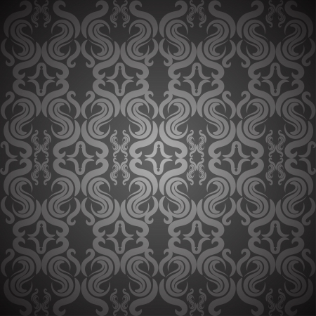 ornate vintage seamless texture Stock Vector - 18371142