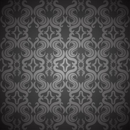 ornate vintage seamless texture Stock Vector - 18371142