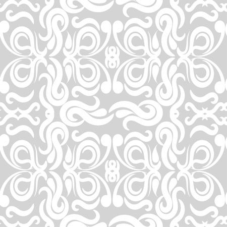 Seamless gray patterned wallpaper  illustration