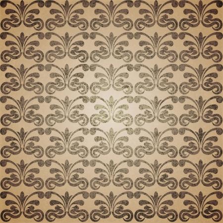 scuff: Antique seamless texture  Vector illustration