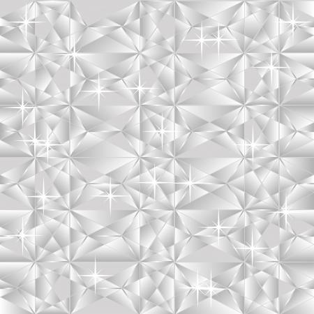 Vector light silver gray geometric background Stock Vector - 19657434