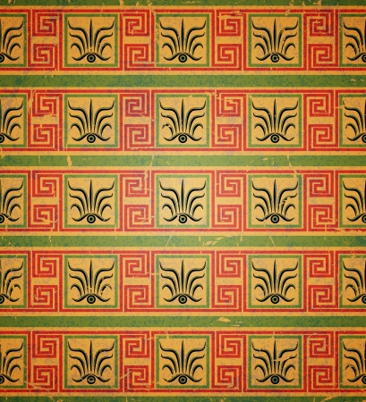 Seamless geometric pattern in the Greek style. Vector illustration.