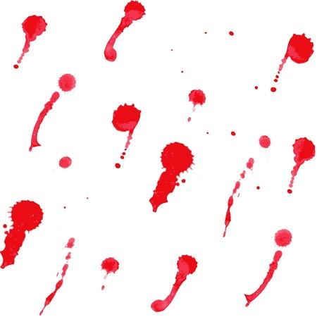 slantwise: Seamless sfondo di macchie rosse Vettoriali